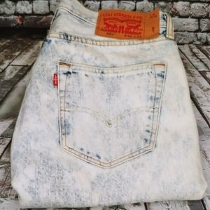 Levi's® 501™ Original Fit Acid Wash Jeans